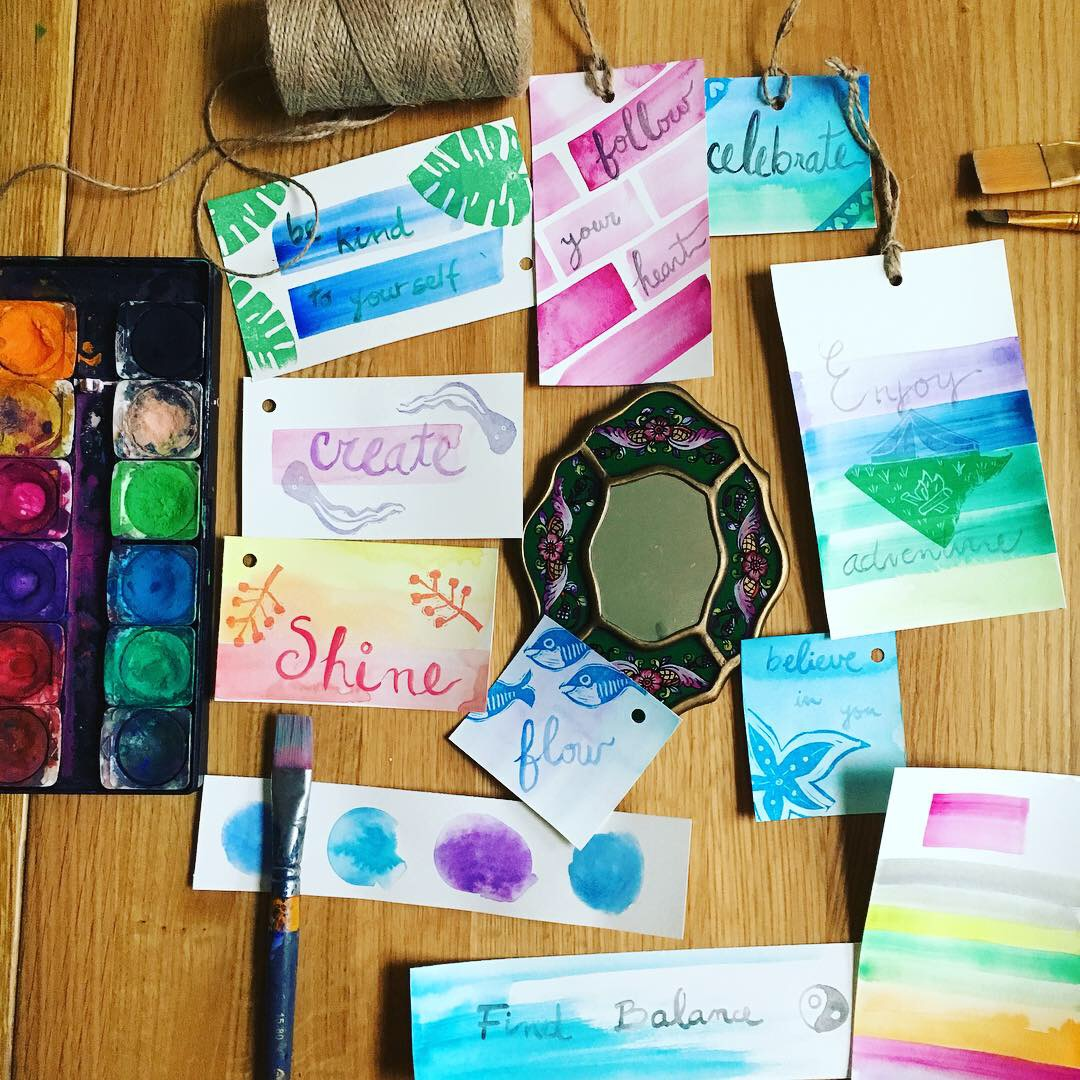 Hand carved stamps and print making by My Stamped World art studio
