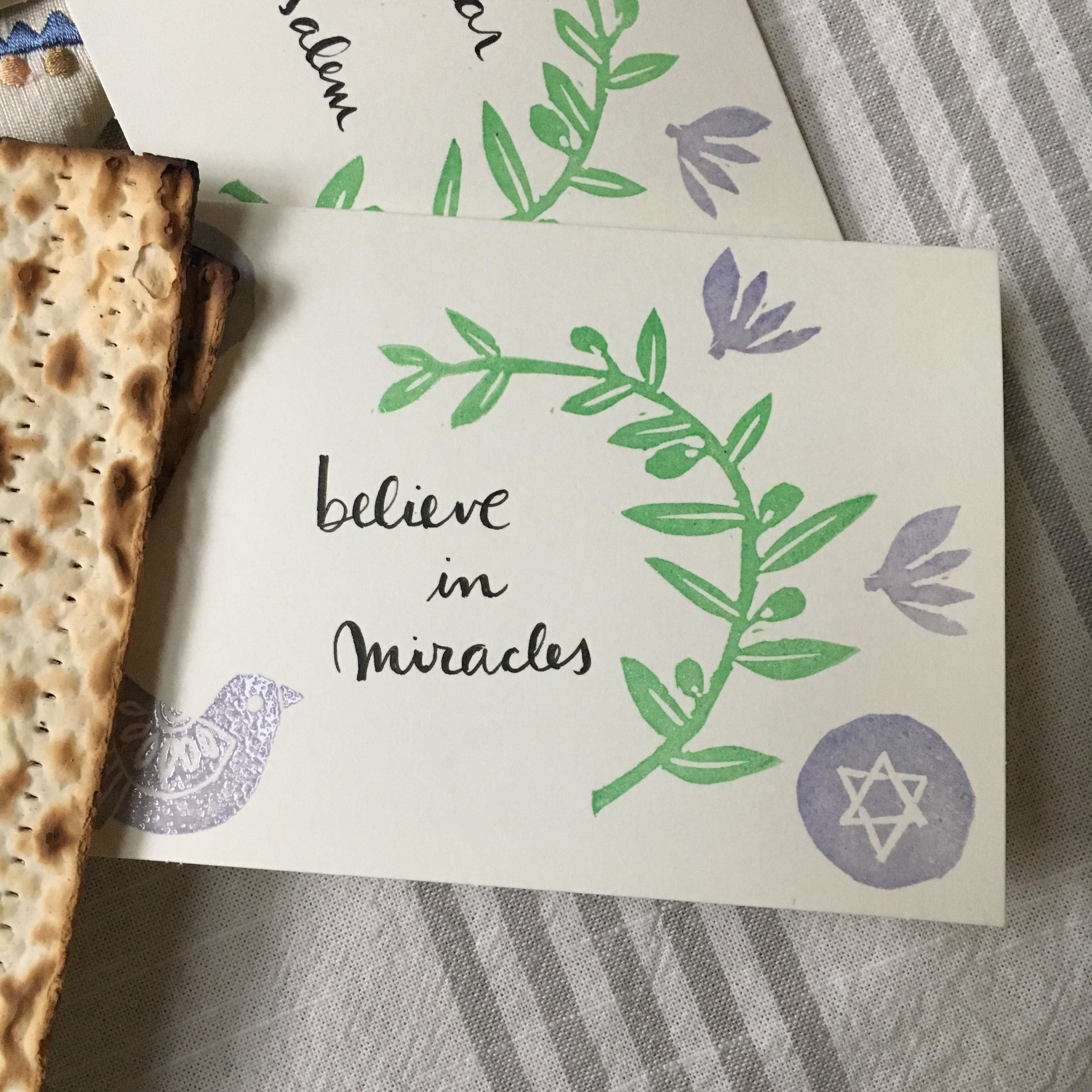 A crafty Passover