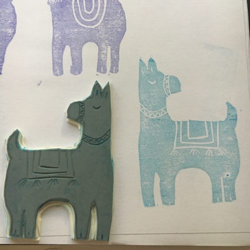 test your rubber stamp, see how it prints